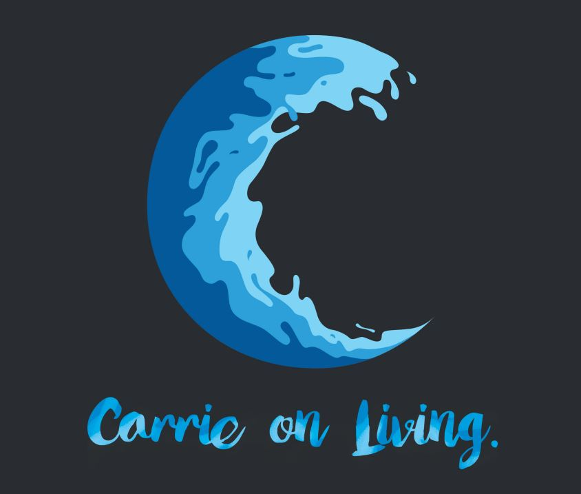 Carrie on Living Logo